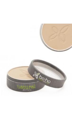 Poudre compacte bio 03 Beige doré - BoHo Green Cosmetics - 4,5 gr.