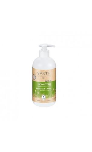 Loción corporal ecológica Piña & Limón FAMILY - SANTE - 500 ml.