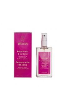 Déodorant bio à la Rose - Weleda - 100 ml.