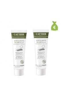 2 x Exfoliante Facial Ecológico con Arcilla Blanca - Cattier - 100 ml.