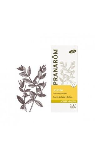 Huile de Jojoba - Huile végétale bio - Pranarôm - 50 ml.