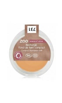 Recarga Maquillaje compacto ecológico 731 - Abricot - Zao Make Up - 7,5 gr.