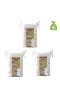 3 x Toallitas maxi de algodón bio para bebé - BOCOTON - 60 Ud.
