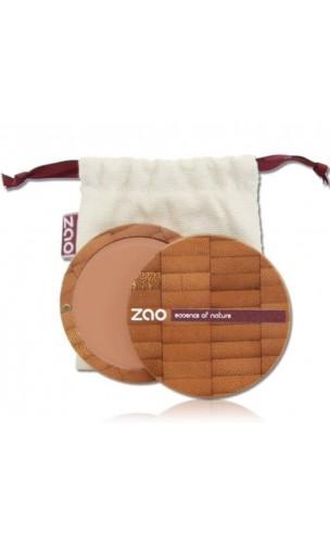 Fond de teint compact BIO 732 - Rose Petal - Zao Make Up - 7,5 gr.