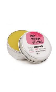 "Bálsamo labial Protector solar natural FPS 15 ""Para protegerte los labios"" - Amapola Amazonia - 15 ml."