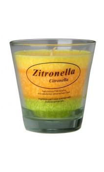 Bougie végétale parfumée Citronnelle - Kerzenfarm - 20 heures
