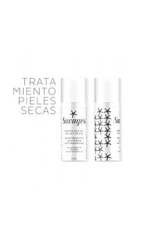 Crema facial bio Antiedad & Antimanchas Ácido Hialurónico - Piel seca - Savages - 50 ml.