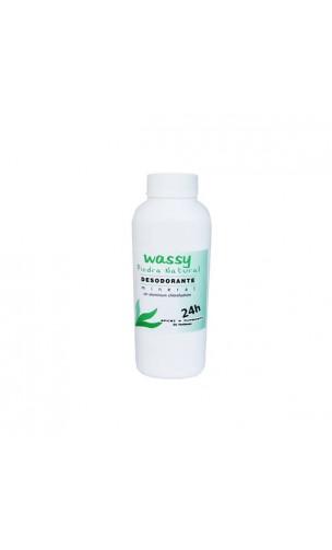 Desodorante en polvo de alumbre para pies - Wassy - 120 gr.