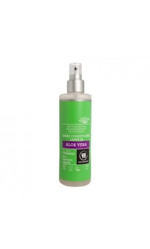 Spray Après-shampooing bio Aloe vera SANS RINÇAGE - URTEKRAM - 250 ml.