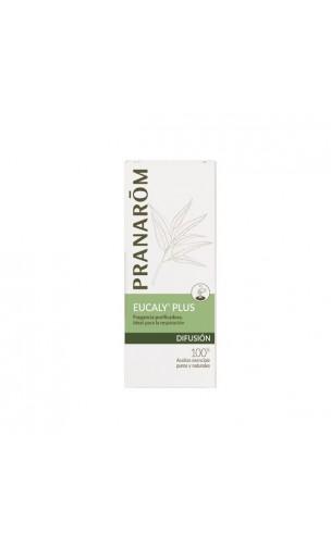 Mélange pour diffuseur EUCALY'PLUS Respiration & Purification (Huiles essentielles pures et naturelles) - Pranarôm - 30 ml.
