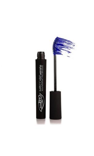 Máscara de pestañas ecológica Impecable Azul - PuroBIO - 5 ml.