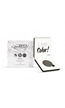 Sombra de ojos ecológica Gris Topo 10 - PuroBIO - 2,5 gr.