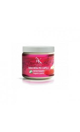 Masque capilaire bio Réparateur Fraises à la crème - Alkemilla - 200 ml.