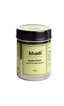 Masque capillaire bio Reetha en poudre Cheveux gras - Khadi - 150 gr.