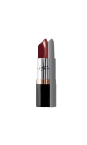 Rouge à lèvres BIO Rouge Poupre 08 - PuroBIO - 3,5 gr.