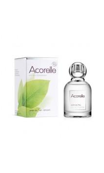 Eau de parfum Jardin des Thés - Parfum bio Stimulant - Acorelle - 50 ml.