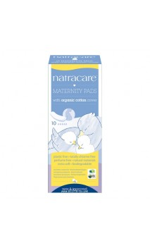 Serviette de Maternité avec coton BIO - Natracare - 10 Unités
