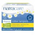 Tampon Normal coton bio sans applicateur - Natracare - 10 Unités