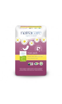 Serviette hygiénique Maxi Normal - Natracare - 14 Unités