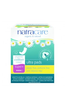 Serviette hygiénique Ultra Super PLUS Natracare - 12 Unités
