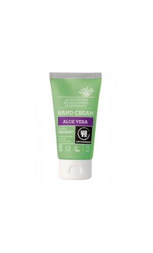 Crème pour les mains bio Aloe vera Régénérante - URTEKRAM - 75 ml.