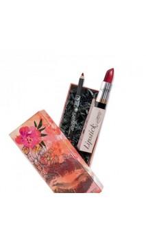 Cadeau BIO Rouge à lèvres et crayon contour des lèvres - Carmesí - PuroBIO
