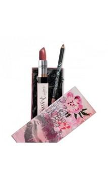 Cadeau BIO Rouge à lèvres et crayon contour des lèvres - Rose - PuroBIO