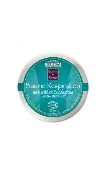 Baume respiration bio Karité & Eucalyptus bio - BIOFLORAL - 35 ml.