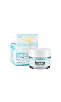 Crema de día ecológica Hidratante Antiedad Q10 Basis Sensitiv - Lavera - 50 ml.