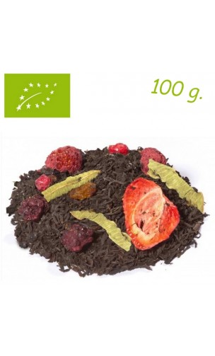 Thé noir Blackberry Tango (Fruits rouges) - Thé bio en vrac - Alveus