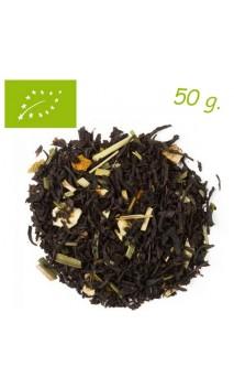 Thé noir CITRON (Détox) - Thé bio en vrac - Aromas de té