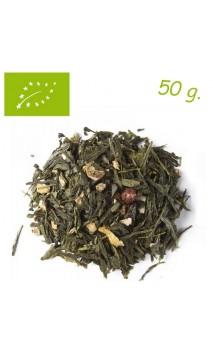 Thé vert FRUITS ROUGES (Bien-être) - Thé bio en vrac - Aromas de té