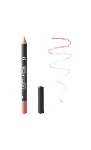 Crayon contour des lèvres BIO Vieux Rose - Avril - 1 gr.
