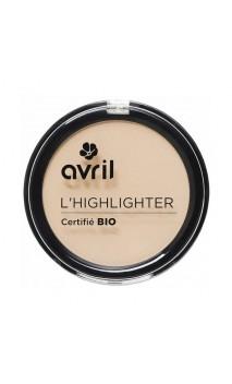 Poudre compacte Illuminatrice bio Highlighter - Avril - 8,5 gr.