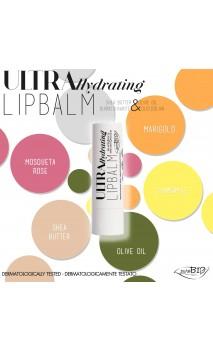 Baume à lèvres bio Ultra Hydrating 05 - PuroBIO - 5 ml.