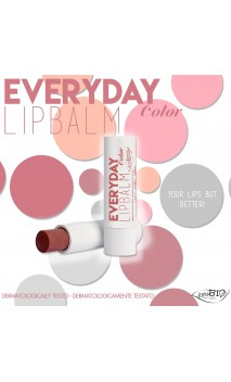 Bálsamo labial ecológico Everyday Color 02 - PuroBIO - 5 ml.