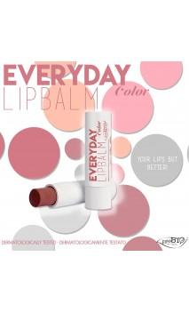 Bálsamo labial ecológico Everyday Color 02 - PuroBIO - 5 ml.