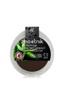Recharge Fond de teint compact BIO 741 - Moka - Zao Make Up - 7,5 gr.