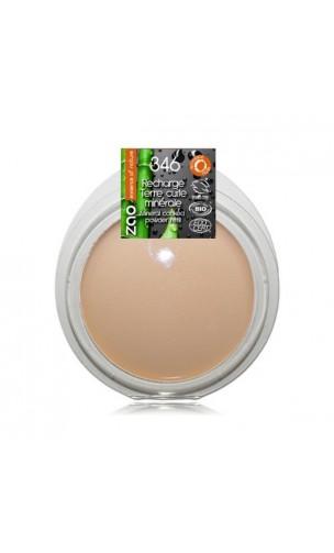 "Recharge Terre cuite bio - 346 Matifiante ""bonne mine"" - ZAO Make Up - 15 gr."