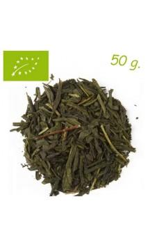Thé vert Sencha Earl Grey (Stimulant) - Thé bio en vrac - Aromas de té