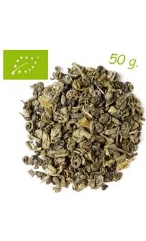 Thé vert Gunpowder (Stimulant) - Thé bio en vrac - Aromas de té