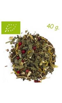 Rooibos Jengibre & Limón (Estimulante) - Rooibos ecológico a granel - Aromas de té