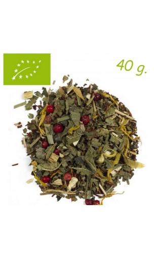 Rooibos Gingembre & Citron (Stimulant) - Rooibos bio en vrac - Aromas de té