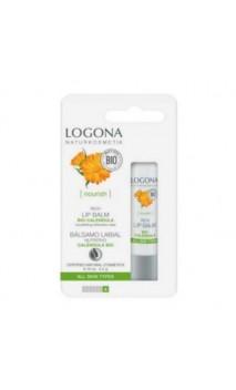 Baume à lèvres calendula bio - LOGONA - 4,5 gr.