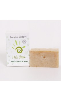 Jabón aloe vera ecológico - Hello Green - 85 gr.
