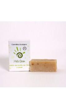 Jabón ecológico Oliva & Laurel - Hello Green - 85 gr.