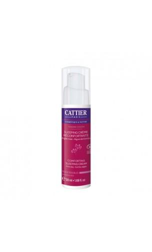 Sleeping Cream - Tratamiento de noche bio Reconfortante Piel sensible Tendre Cocon - Cattier - 50 ml.
