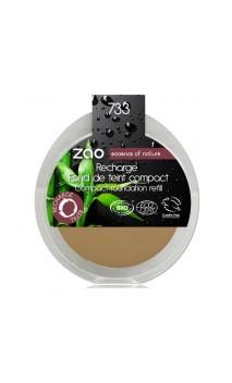 Recarga Maquillaje compacto ecológico 733 - Neutral - Zao Make Up - 7,5 gr.
