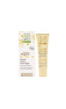 Sérum Iluminador antiedad ecológico Précieux Argan - SO'BiO étic - 30 ml.
