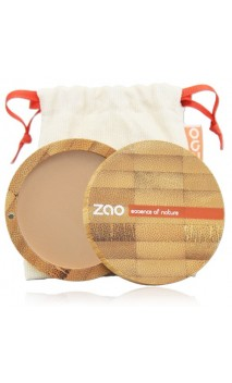 Polvo compacto ecológico - Beige orangé 302 - Zao Make-Up